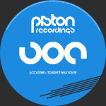 ACCATONE – I TOUGHT IT WAS YOU EP (PISTON RECORDINGS)