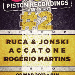 PISTON RECORDINGS LABEL NIGHT<span class=