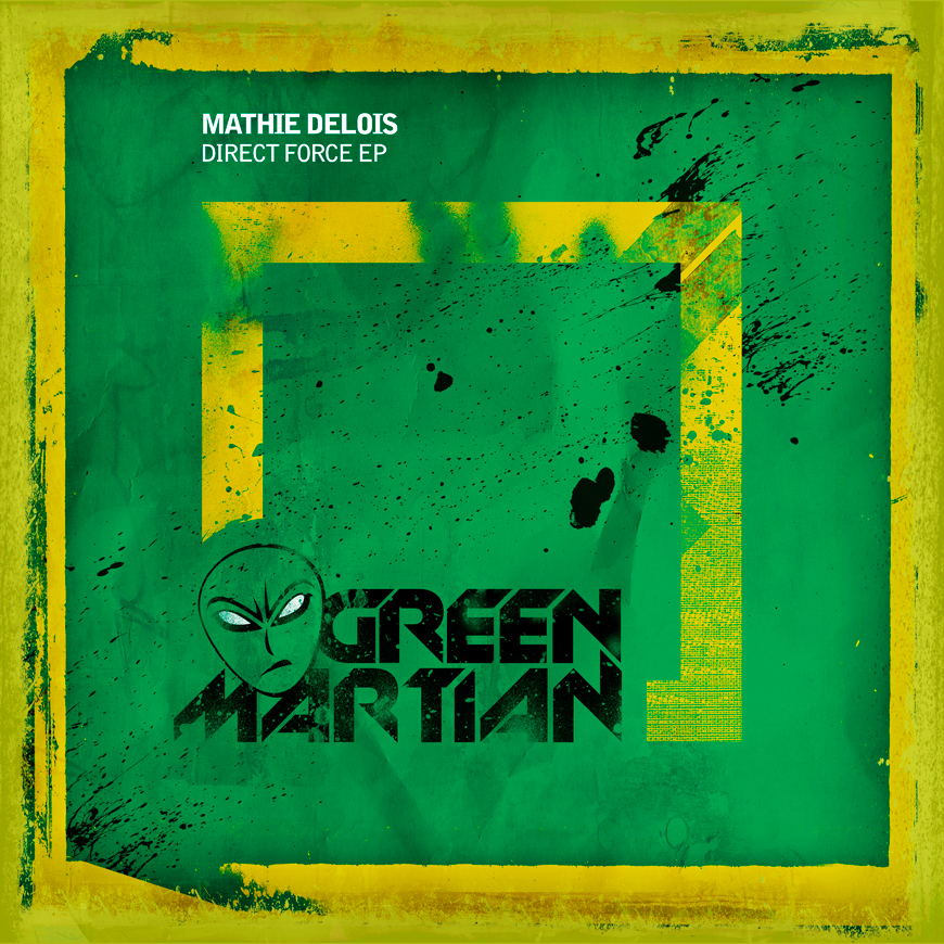 MathieDeloisDirectForceEPGreenMartian870x870