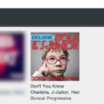 CHANTOLA & J-JUNIOR – DON'T YOU KNOW FEATURED BY BEATPORT