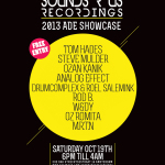 SOUNDS R US RECORDINGS 2013 ADE SHOWCASE