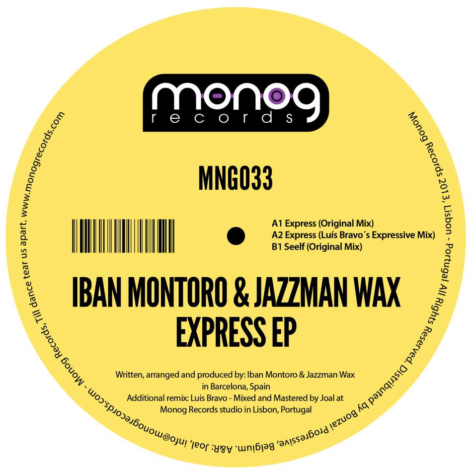 IbanMontoro&JazzmanWaxExpressEP