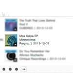 METRONOMES – MEA CULPA EP FEATURED AND CHARTED BY BEATPORT