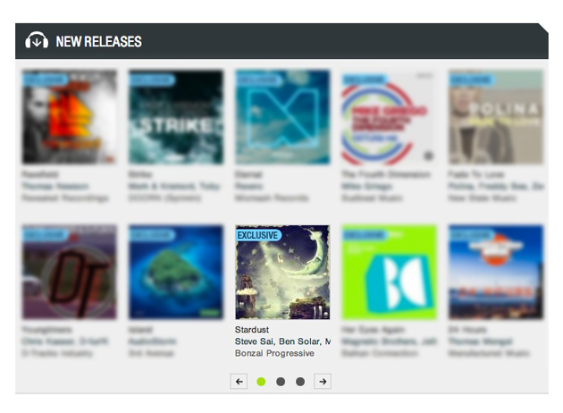 SteveSaiStardustfeaturedbyBeatport
