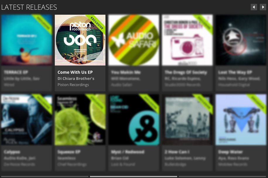 DI CHIARA BROTHER'S – COME WITH US EP FEATURED BY BEATPORT