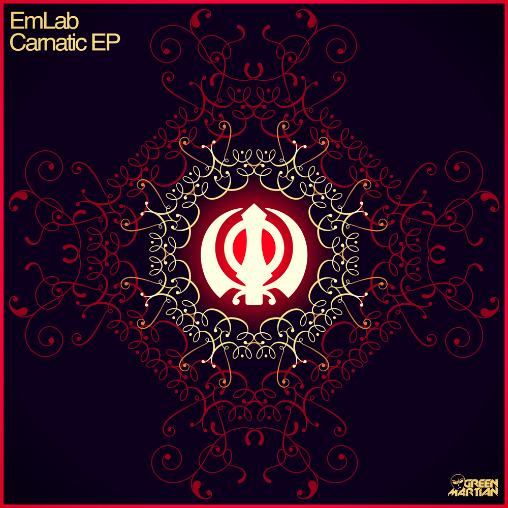 EMLAB – CARNATIC EP (GREEN MARTIAN)