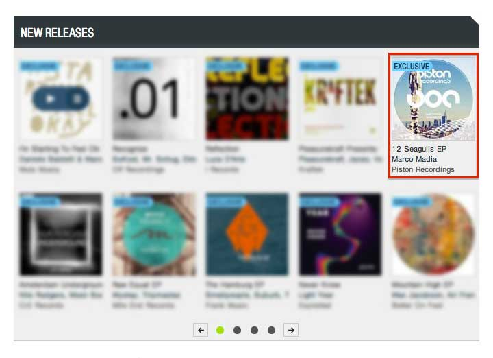 MARCO MADIA – 12 SEAGULLS EP FEATURED BY BEATPORT