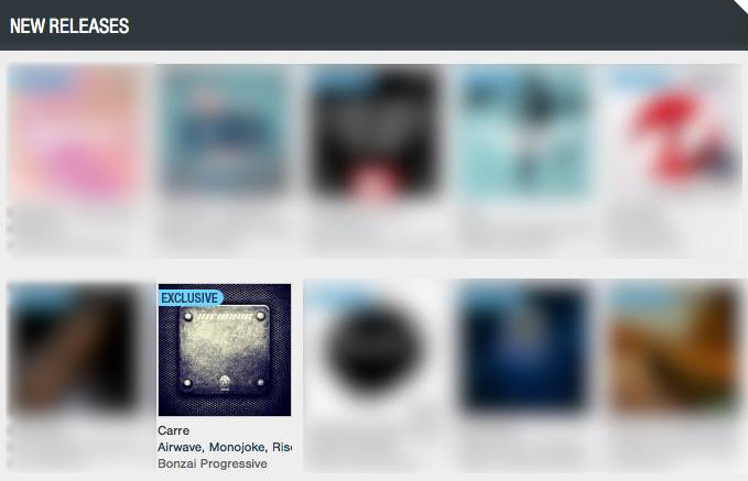 AIRWAVE – CARRE FEATURED BY BEATPORT