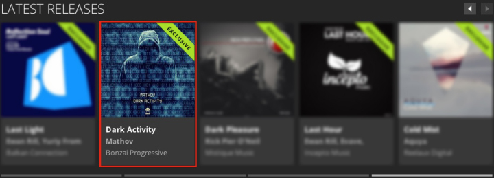 MATHOV – DARK ACTIVITY FEATURED BY BEATPORT