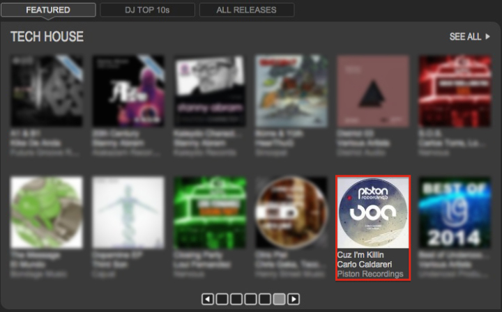 CARLO CALDARERI – CUZ I'M KILLIN FEATURED BY TRAXSOURCE