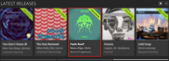 CHRIS HARRIS – FEELS REAL? FEATURED BY BEATPORT