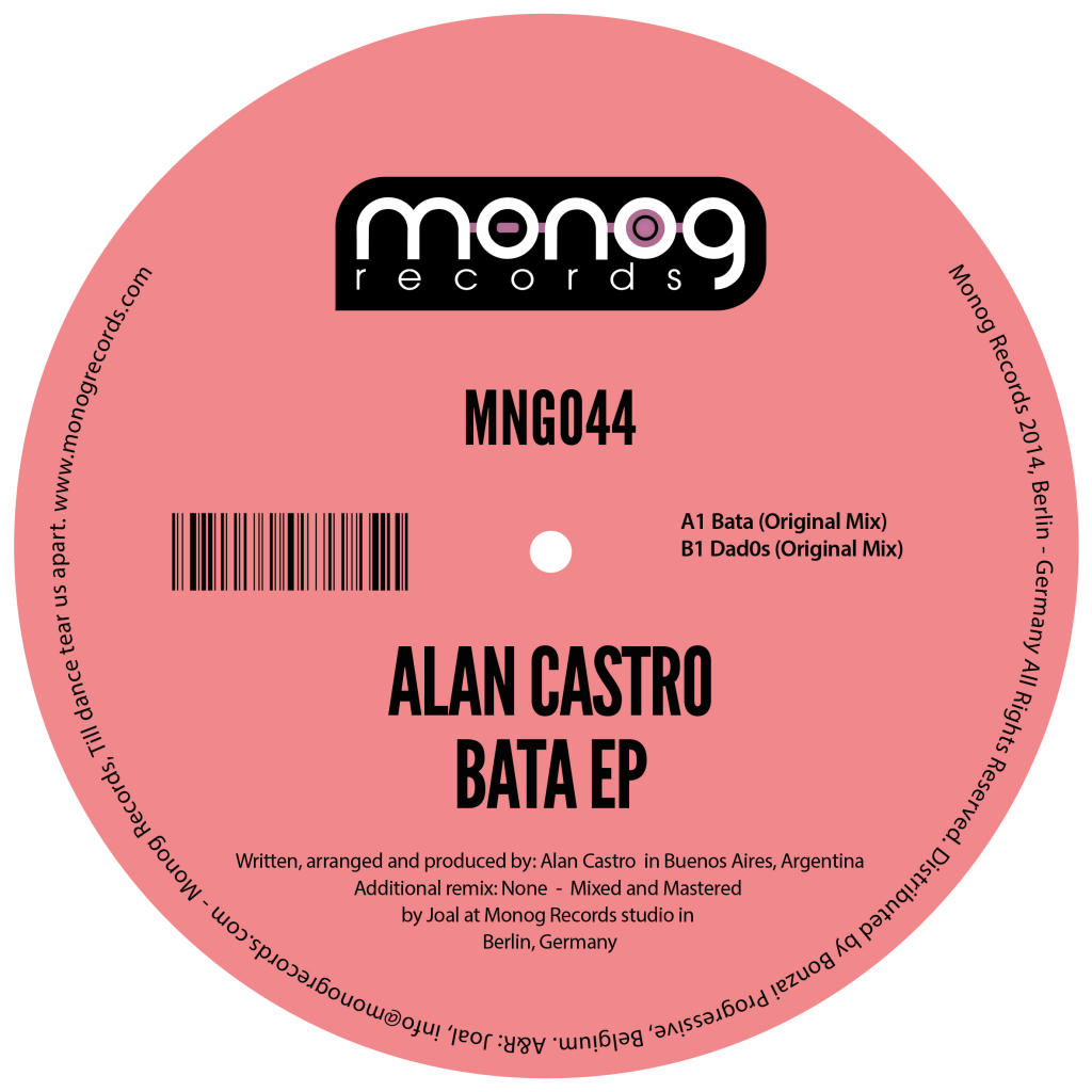 ALAN CASTRO – BATA EP (MONOG RECORDS)