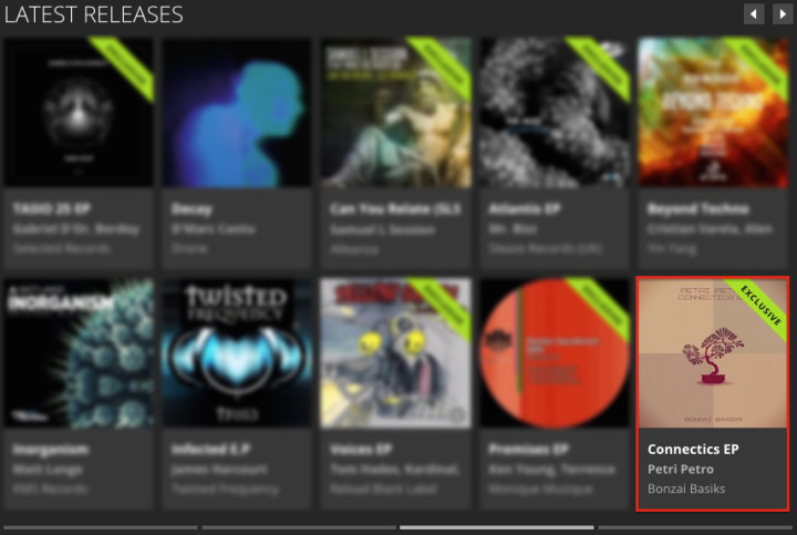 PETRI PETRO – CONNECTICS EP FEATURED BY BEATPORT
