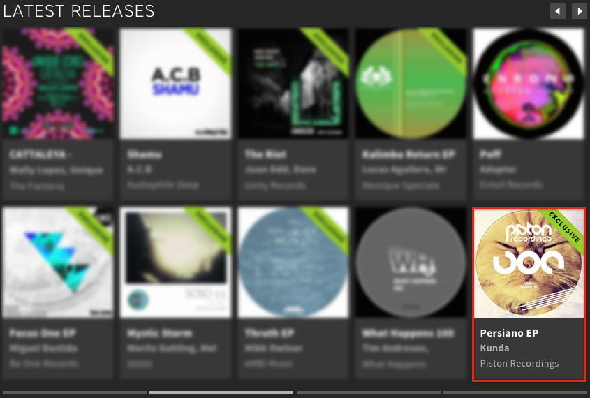 KUNDA – PERSIANO EP FEATURED BY BEATPORT