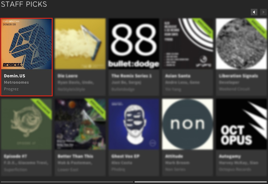 METRONOMES – DOMIN.US FEATURED BY BEATPORT