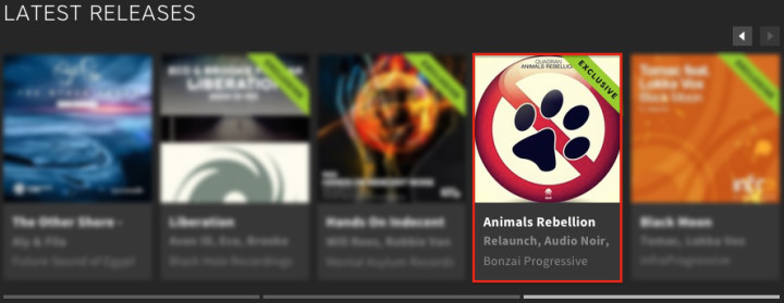 QUADRAN – ANIMALS REBELLION FEATURED BY BEATPORT