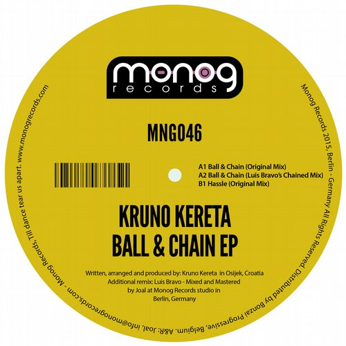 KRUNO KERETA – BALL & CHAIN EP (MONOG RECORDS)