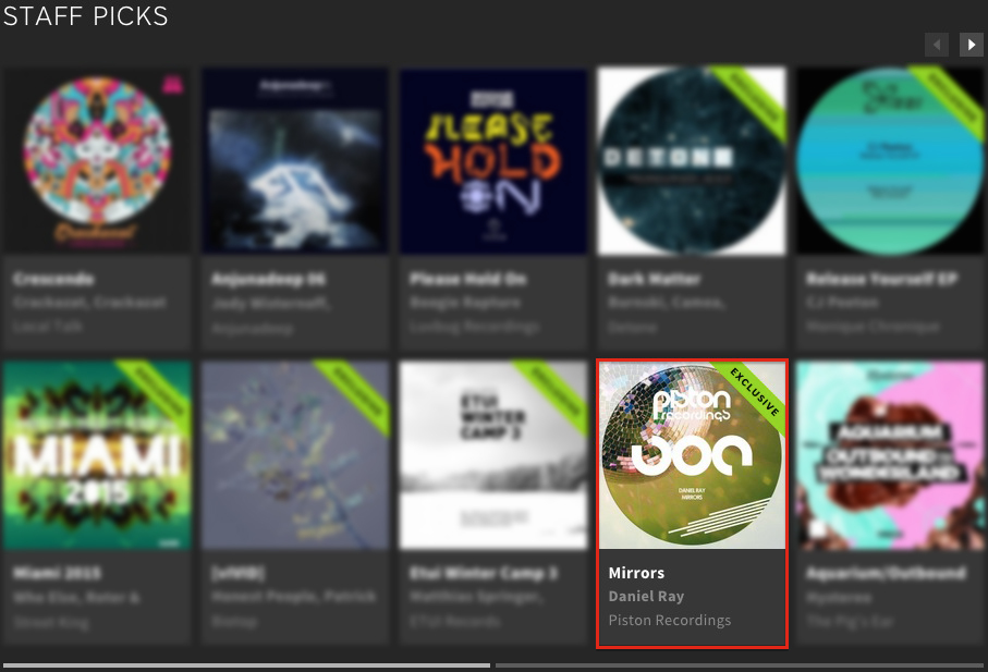 DANIEL RAY – MIRRORS FEATURED BY BEATPORT