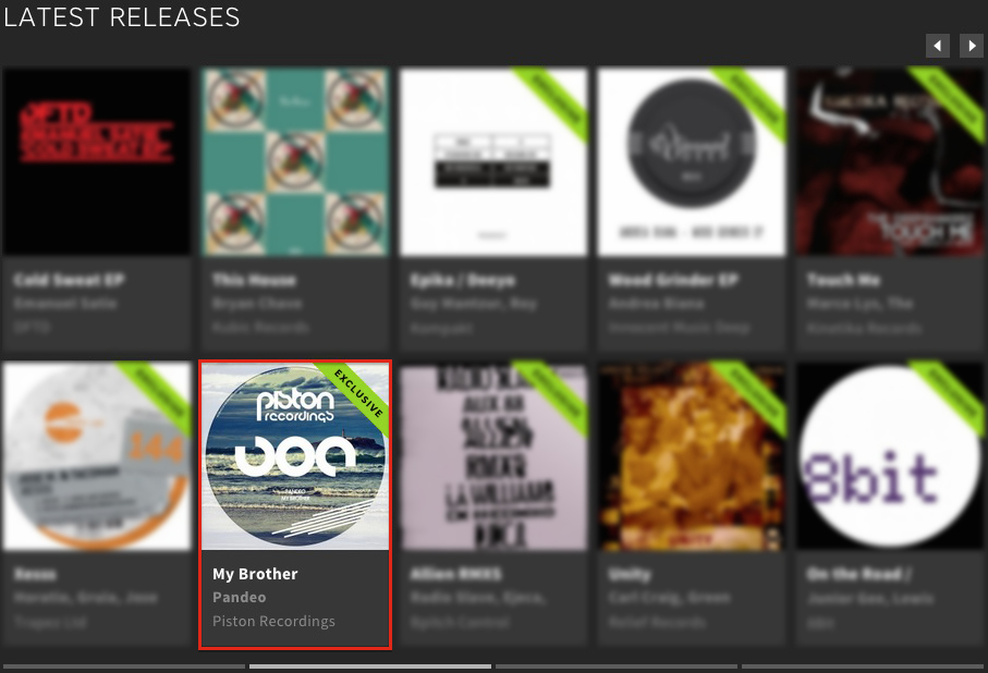 PANDEO – MY BROTHER FEATURED BY BEATPORT