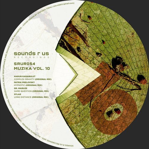 MUZIKA, VOL.10 (SOUNDS R US RECORDINGS)