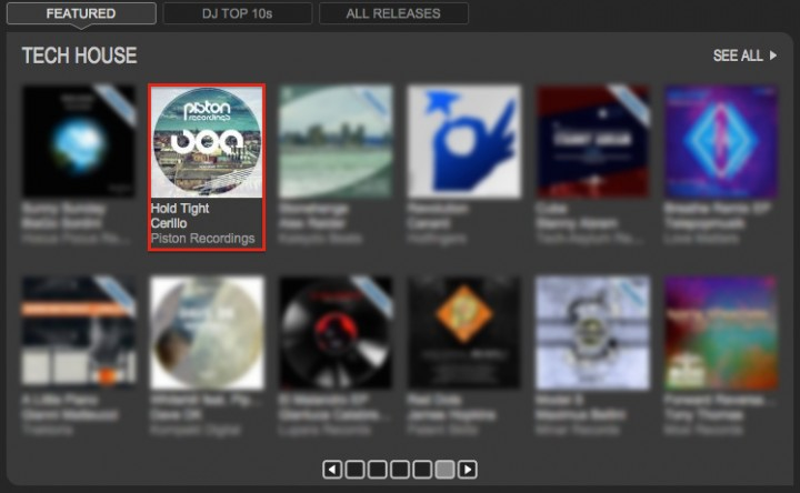 CERILLO – HOLD TIGHT FEATURED BY TRAXSOURCE