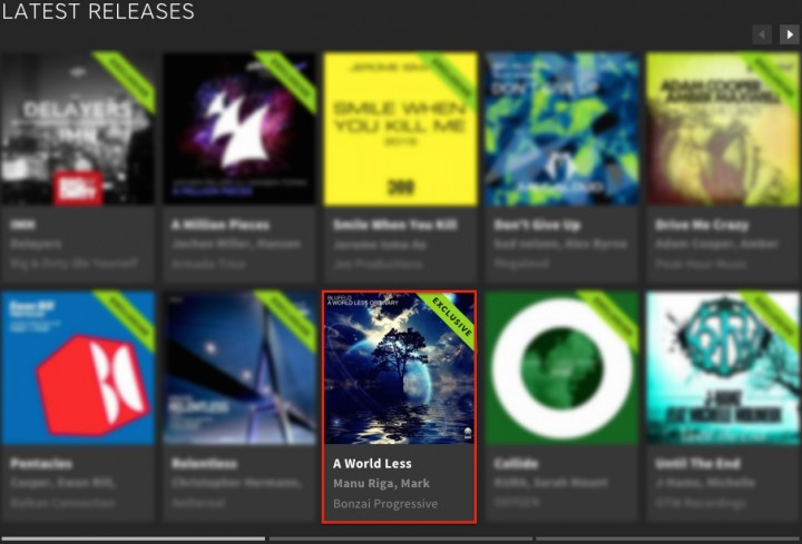 BLUFELD – A WORLD LESS ORDINARY FEATURED BY BEATPORT