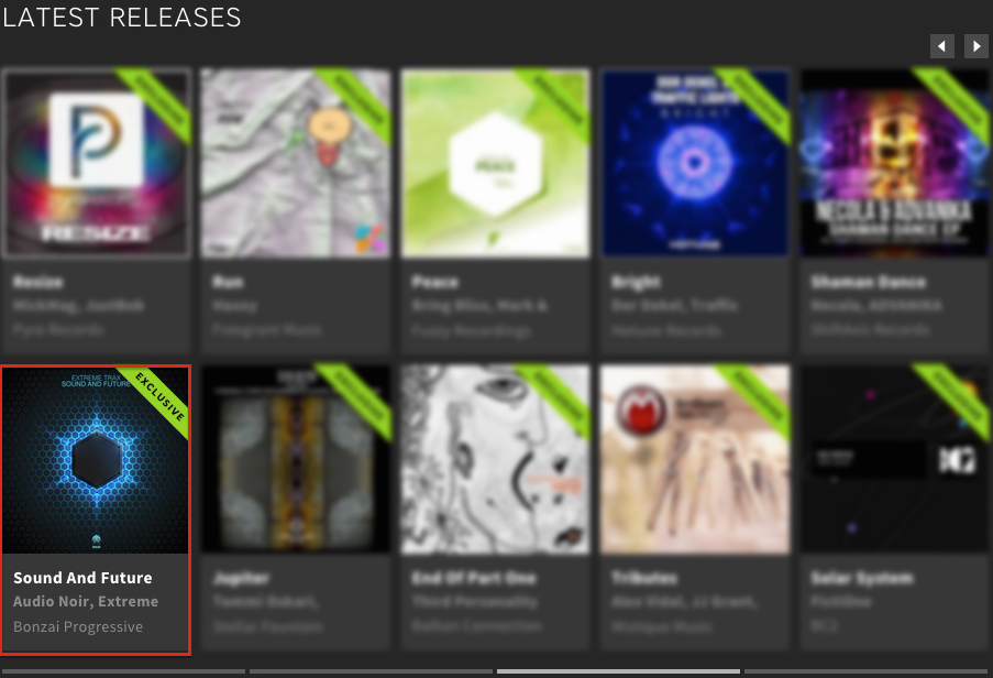 EXTREME TRAX – SOUND AND FUTURE FEATURED BY BEATPORT