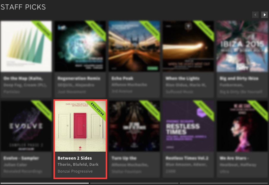 DARK SOUL PROJECT & MATHOV – BETWEEN 2 SIDES FEATURED BY BEATPORT