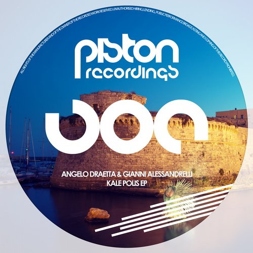 ANGELO DRAETTA & GIANNI ALESSANDRELLI – KALE POLIS EP (PISTON RECORDINGS)