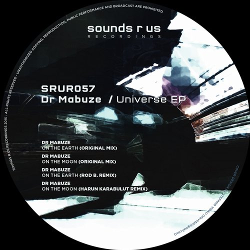 DR MABUZE – UNIVERSE EP (SOUNDS R US RECORDINGS)