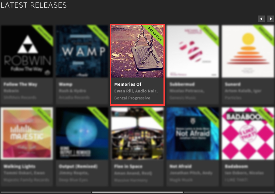MATT HOLLIDAY – MEMORIES OF YESTERDAY FEATURED BY BEATPORT