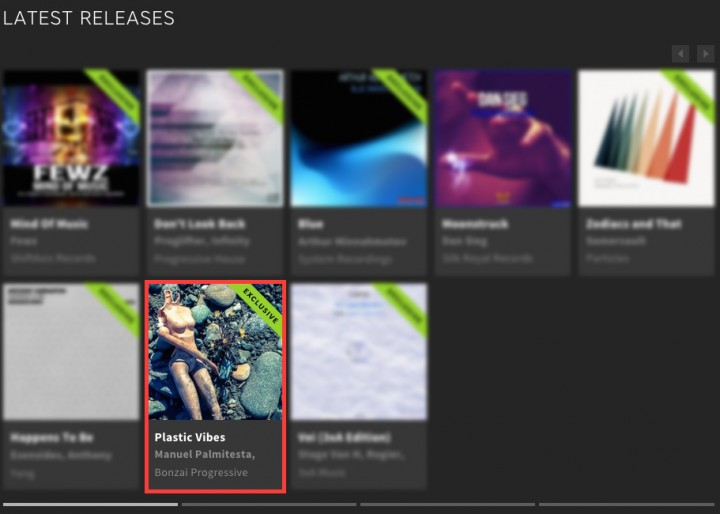 TECH DEALER – PLASTIC VIBES FEATURED BY BEATPORT