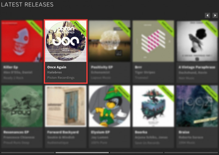 ITALOBROS – ONCE AGAIN FEATURED BY BEATPORT