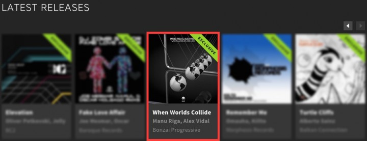 MANU RIGA & ALEX VIDAL – WHEN WORLDS COLLIDE FEATURED BY BEATPORT