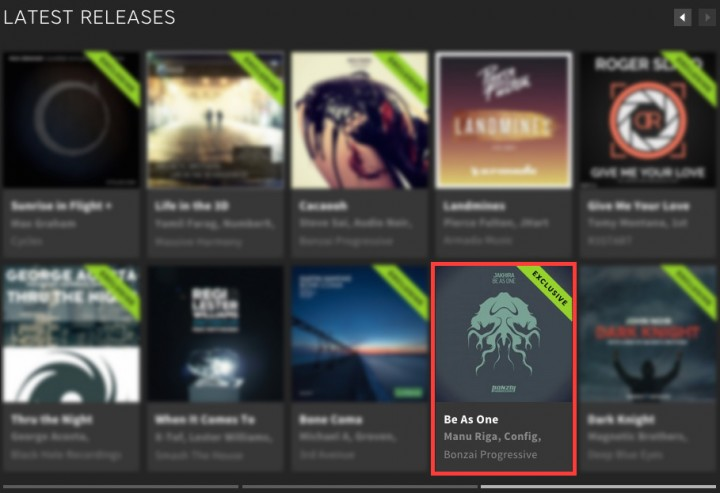 JAKHIRA – BE AS ONE FEATURED BY BEATPORT