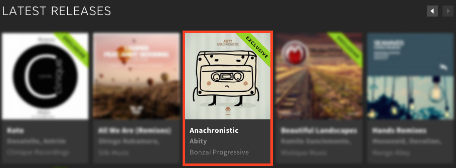 ABITY – ANACHRONISTIC FEATURED BY BEATPORT