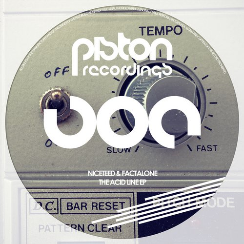 NICETEED & FACTALONE – THE ACID LINE EP (PISTON RECORDINGS)