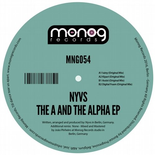 NYVS – THE A AND THE ALPHA EP (MONOG RECORDS)