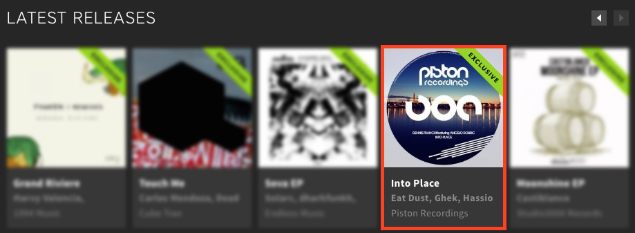 DENNIS FRANCHI featuring ANGELO DOBRIC – INTO PLACE FEATURED BY BEATPORT