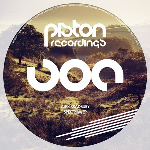 ALEX BRADBURY – SPEKTRUM EP (PISTON RECORDINGS)
