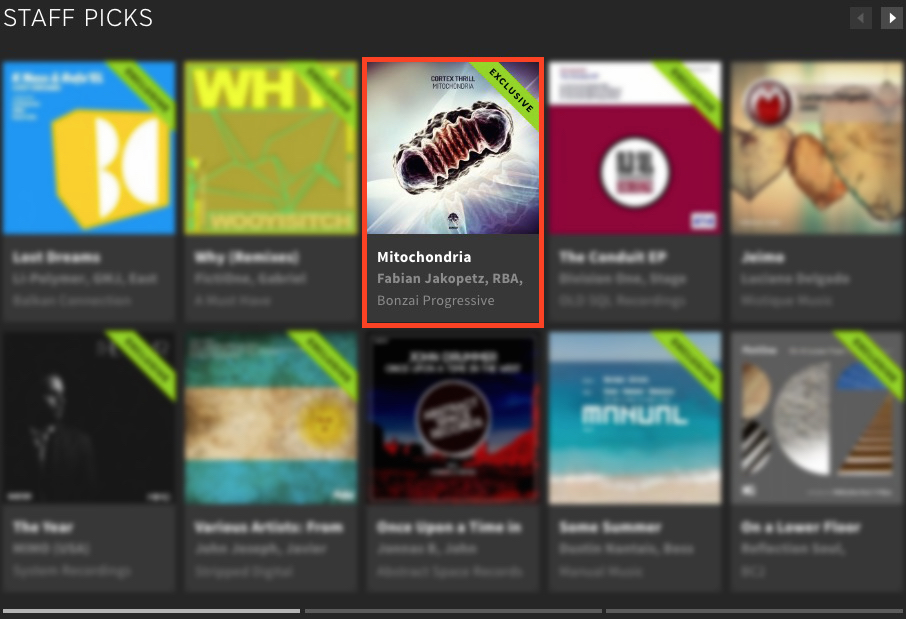 CORTEX THRILL – MITOCHONDRIA FEATURED BY BEATPORT