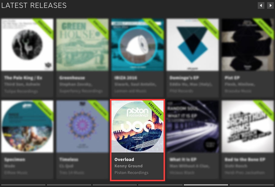 KENNY GROUND – OVERLOAD FEATURED BY BEATPORT