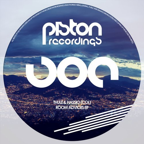 THULE & HASSIO (COL) – ROOM ADVICES EP (PISTON RECORDINGS)