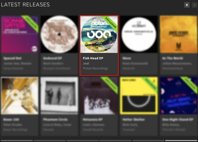 JOAL – FISH HEAD EP FEATURED BY BEATPORT