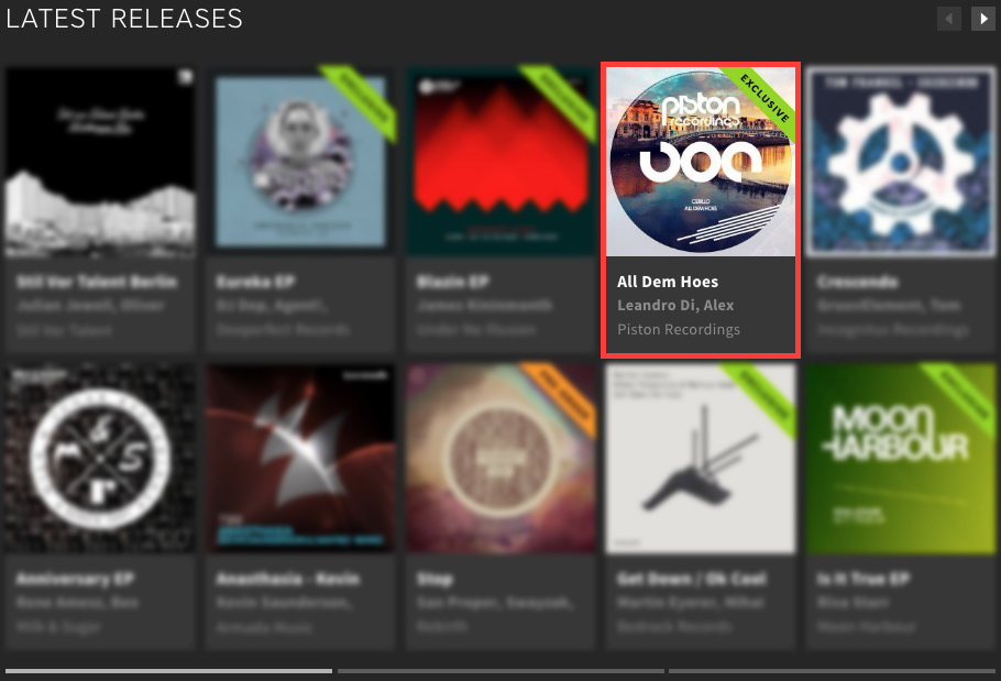 CERILLO – ALL DEM HOES FEATURED BY BEATPORT