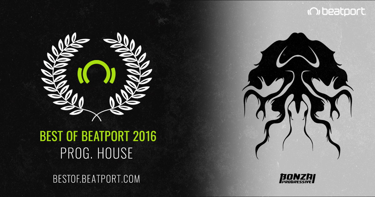 BONZAI PROGRESSIVE IN THE TOP 10 PROGRESSIVE HOUSE LABELS OF 2016 AT BEATPORT