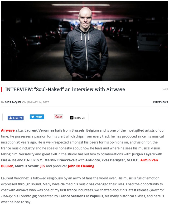 EDMTOR INTERVIEWS AIRWAVE